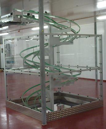 Behälterrutsche - Krampe GmbH & Co. KG, Hamm - Fördertechnik, Gewinnungstechnik, Maschinenbau