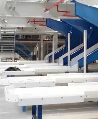 Fördertechnik, Pufferendstelle - Krampe GmbH & Co. KG, Hamm - Fördertechnik, Gewinnungstechnik, Maschinenbau
