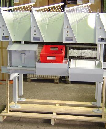 Small-Sort Endstellen - Krampe GmbH & Co. KG, Hamm - Fördertechnik, Gewinnungstechnik, Maschinenbau