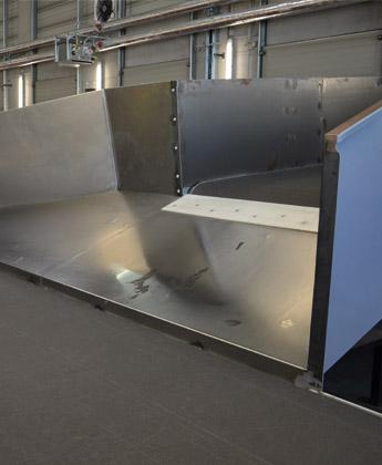 Übergaberutsche - Krampe GmbH & Co. KG, Hamm - Fördertechnik, Gewinnungstechnik, Maschinenbau