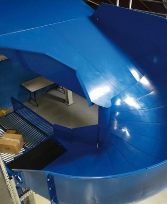 Wendelrutsche - Krampe GmbH & Co. KG, Hamm - Fördertechnik, Gewinnungstechnik, Maschinenbau